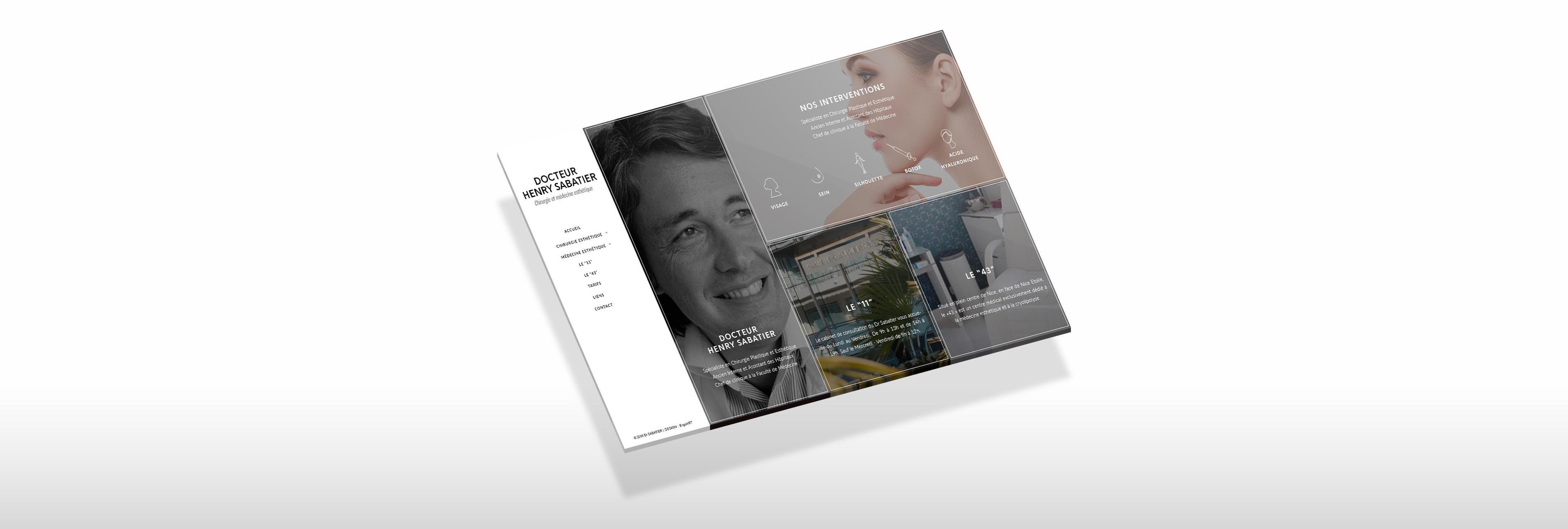sabatier-reponsive-website